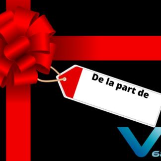 VR68 carte cadeau pour escape game, jeux VR